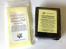 Zapper Copper Cleaning Cloth AND Wrist Band Package - Keep Zapper Clean