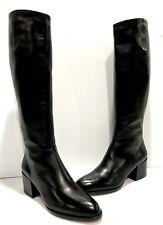 SAM EDELMAN 'Joelle' Soft Tall Black Leather Riding Boots. Size 8M *NEW*