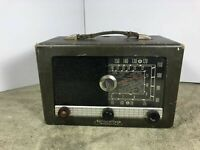 Hallicrafter Continental S-103 Tube AM Short Wave Radio Unrestored
