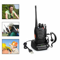 BF-888S Walkie Talkie Portable Two Way Radio Transceiver F-Antenna 16 Channel US