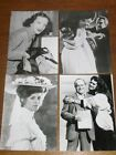 LOT 4 PHOTOS STARS DE CINEMA / BROOKE SHIELDS, JULIE CHRISTIE, MIREILLE BALIN...