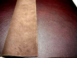 """Large Leather panels 4 pieces pebbly Wine Top Quality Large 18"""" x 24"""""""