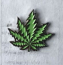 Grateful Dead Bolt Cannabis Leaf Lapel Pin. Hat Pin. Steal Your Face.  Weed Leaf
