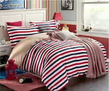 Duvet cover and a bed sheet in one set! queen size 100% cotton