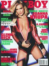 PLAYBOY DECEMBER 2009 Joanna Krupa Crystal Harris Sasha Grey Rampage Jackson