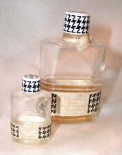 """2 MISS DIOR Perfume Bottles By Christian Dior    One Mini 2""""      One 3-3/4""""."""