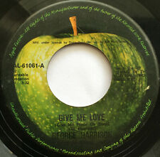 GEORGE HARRISON /GIVE ME LOVE / PHILIPPINES / 1973 / APPLE