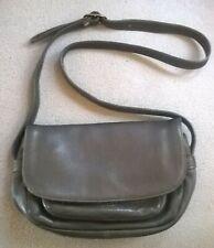 Vintage Levi'S Levi Strauss & Co Leather Grey Gray Purse Handbag Shoulder Bag
