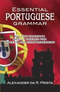 Essential Portuguese Grammar (Dover Language Guides Essential Grammar) - GOOD