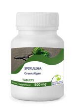 Spirulina 500mg Organic x 30 Tablets