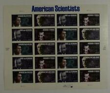Us Scott 3906 - 3609 Pane Of 20 American Scientists Stamps 37 Cent Face Mnh