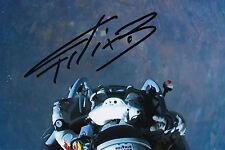 Felix Baumgartner Signed 4x6 Photo Red Bull Stratos Space Jump Red Bull