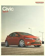 Honda Civic Type R & Type R GT UK Market Brochure 2007 50 Pages