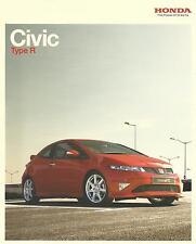 Honda Civic Type R & Type R GT UK Market Brochure 2007 50 Pages