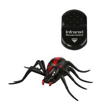 Plastic Infrared Remote Control Spider Prank Insects Joke Scary Toys Huge Funny
