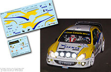 Decal 1:43 Juha Kankkunen - CITROEN XSARA WRC - Rally Islas Canarias 2014
