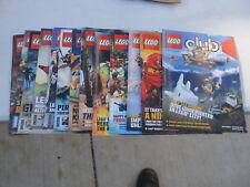 Lego Club magazines lot of 13 NICE