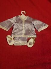 American Girl Doll Victorian Style Lavender Pajamas