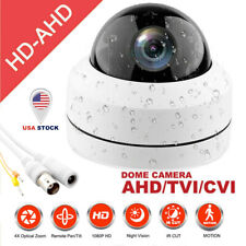 CCTV TVI, AHD CVI CVBS 4 in 1 Outdoor 1080P IR Dome PTZ Camera 4x zoom HD 2MP