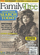 FAMILY TREE MAGAZINE JANUARY, 2017  START YOUR SEARCH TODAY! (FREE YEAR PLANNER
