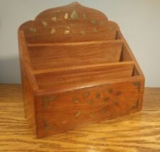 Letter Magazine Rack French Wooden Shelving Unit 2902