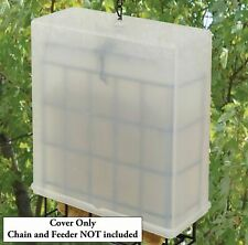 Songbird Essentials Suet Saver cage cover Kit Deter starling grackles and other