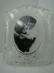 Mikasa Germany New Glass Wedding Bridal Picture Frame Holds 8 X 10 Picture