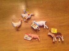 safari ltd lot - 5 Farm Animals