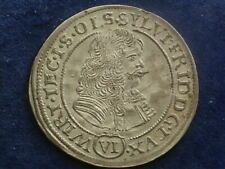 VI Kreuzer 1674  - Schlesien Württemberg - Öls Sylvius Friedrich  W/20/169