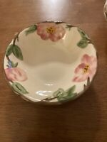 "Franciscan Made In England Desert Rose 5-7/8"" Dessert Bowl"