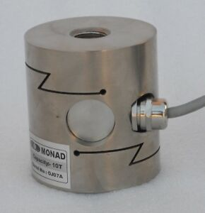 SType Alloy Steel 5000kg Tension/Compression IP67 Loadcell with 4-20mA Amplifier