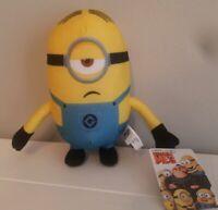 "Despicable Me 3 Minions Stuart Minion Made Stuffed Plush Toy Factory 7"""