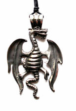 X1 Dragon Pewter Necklace/Pendant