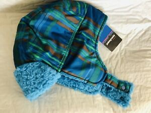 Patagonia Baby Boy Shelled Hat Size XS 0-6 Months. NEW With Tags.