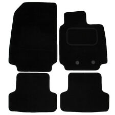 Renault Clio MK3 MK4 2009 onwards Tailored Carpet Car Mats Black 4pc Floor Set