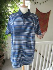 "Jasper Conran Men's Polo Shirt Striped ""Good gently worn condition"""
