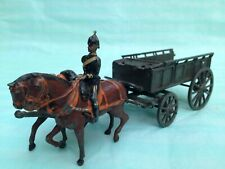 Very Rare Britains Army Service Corps G.S Wagon 146 Set 1920s