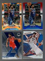 2019-20 Joel Embid Prizm Lot (4) Basketball Cards Philadelphia 76ers