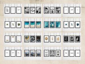 Set of 3 Wall Art Prints Bedroom Living Room Home Office: Framed or Unframed