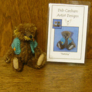 "DEB CANHAM Artist Designs TOMMY Various Bears, 3.75""  NEW From Retail Store"