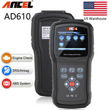 Auto OBD2 ABS Airbag SRS Reset SAS Scan OBD Diagnostic Scanner Clear Code Reader