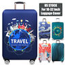 """US 18-32"""" Travel Luggage Cover Protector Elastic Anti-Scratch Suitcase Dustproof"""