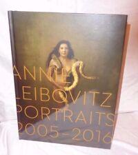 SIGNED Annie Leibovitz Portraits 2005 2016 Coffee table Artist Photographs 1/1