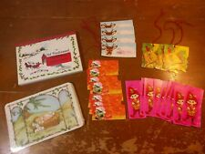 Lot of Vintage Nativity Baby Jesus Old Fashioned Christmas Postcards & Gift Tags