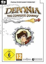 Deponia: the Complete Journey-Windows/Mac-DVD roma-nuevo embalaje original