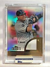 2012 Topps Tribute To The Stars #MC Miguel Cabrera Uncirculated Jersey #01/99