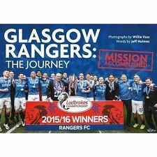Glasgow Rangers: The Journey: Mission Accomplished,Willie Vass,Very Good Book mo