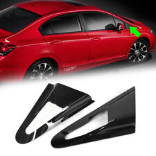 For HONDA CIVIC 9th Sedan Side Window Louver Visor Cover 2012-2015
