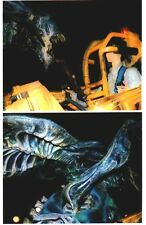 LOT 3: Two 8x10 photos ALIENS full scale prop model, James Cameron