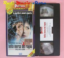 film VHS cartonata NELLA MORSA DEL RAGNO Morgan Freeman PANORAMA  (F39*) no dvd